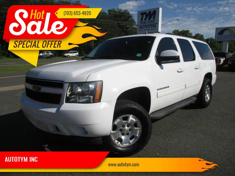 2014 Chevrolet Suburban for sale at AUTOTYM INC in Fredericksburg VA