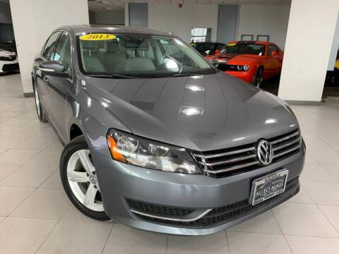 2013 Volkswagen Passat for sale at Auto Mall of Springfield in Springfield IL