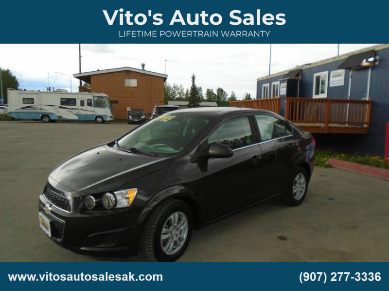 2014 Chevrolet Sonic for sale at Vito's Auto Sales in Anchorage AK