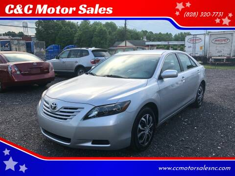 2008 Toyota Camry for sale at C&C Motor Sales LLC in Hudson NC