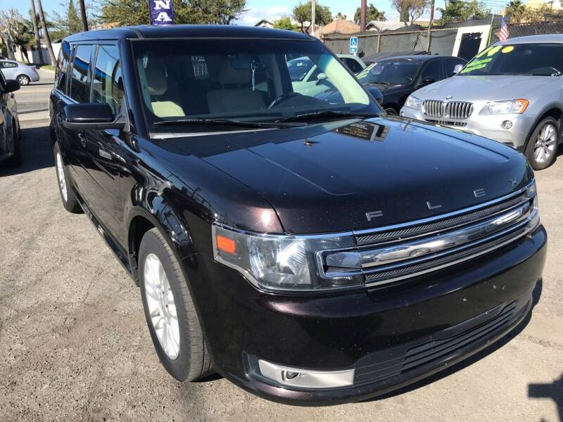 2013 Ford Flex for sale at CAR GENERATION CENTER, INC. in Los Angeles CA