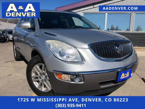 2012 Buick Enclave for sale at A & A AUTO LLC in Denver CO