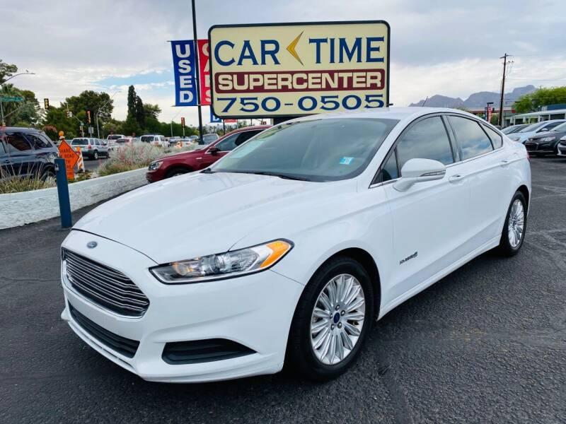 2016 Ford Fusion Hybrid for sale in Tucson, AZ