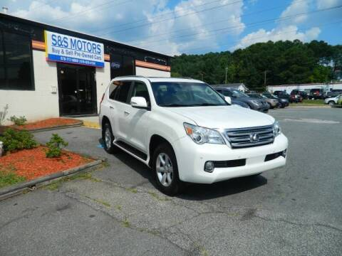 2011 Lexus GX 460 for sale at S & S Motors in Marietta GA