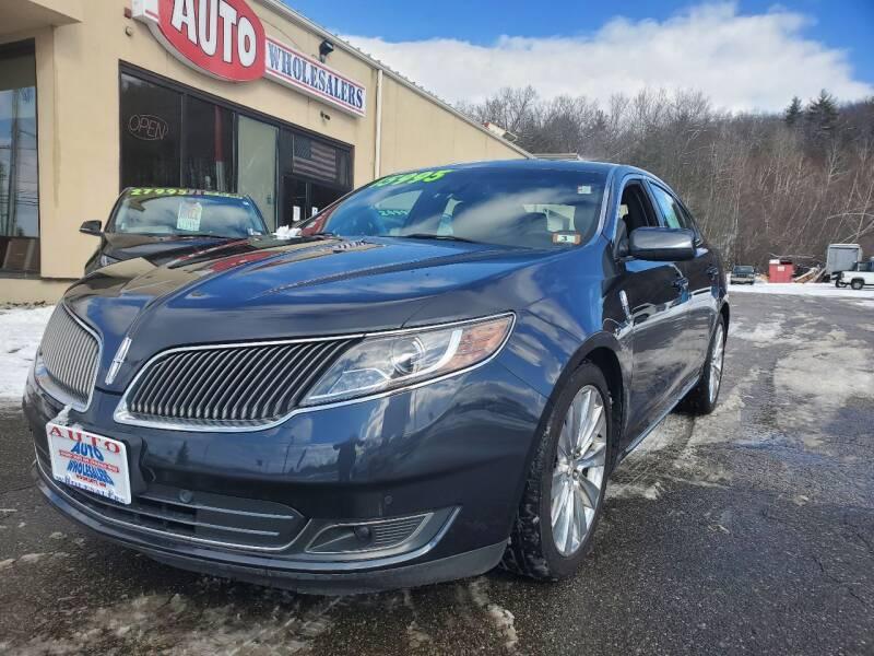 2014 Lincoln MKS for sale at Auto Wholesalers Of Hooksett in Hooksett NH