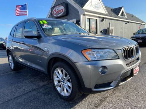2013 BMW X3 for sale at Cape Cod Carz in Hyannis MA
