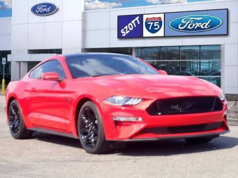 2019 Ford Mustang for sale at Szott Ford in Holly MI