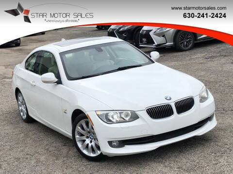 2013 BMW 3 Series for sale at Star Motor Sales in Downers Grove IL