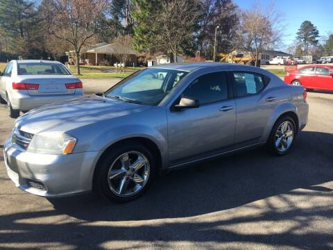 2013 Dodge Avenger for sale at O'Quinns Auto Sales, Inc in Fuquay Varina NC