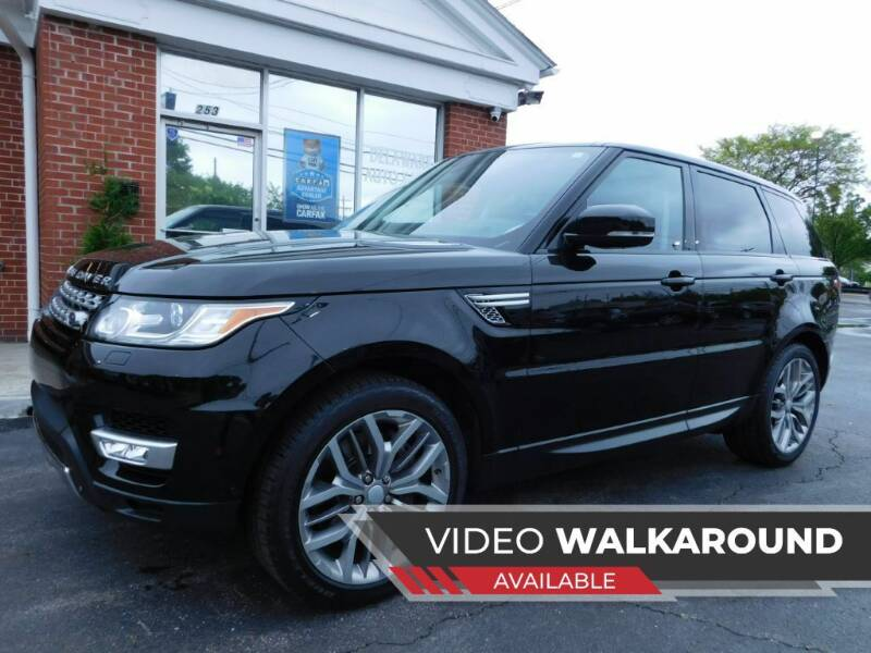 2014 Land Rover Range Rover Sport for sale at Delaware Auto Sales in Delaware OH