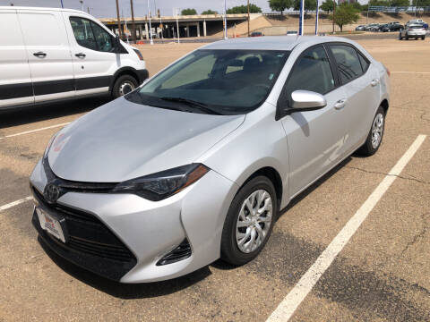 2018 Toyota Corolla for sale at BUDGET CAR SALES in Amarillo TX
