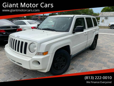 2010 Jeep Patriot for sale at Giant Motor Cars in Tampa FL