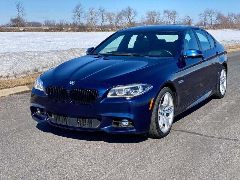 2016 BMW 5 Series for sale at Geneva Motorcars LLC in Delavan WI