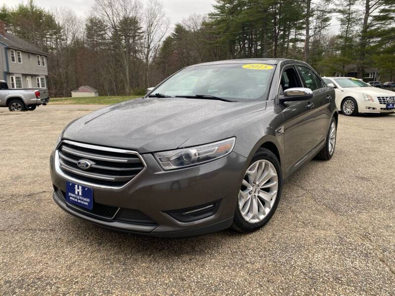2015 Ford Taurus for sale at Hornes Auto Sales LLC in Epping NH