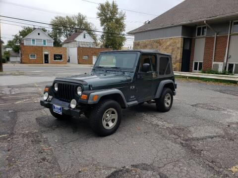 2003 Jeep Wrangler for sale at USA AUTO WHOLESALE LLC in Cleveland OH