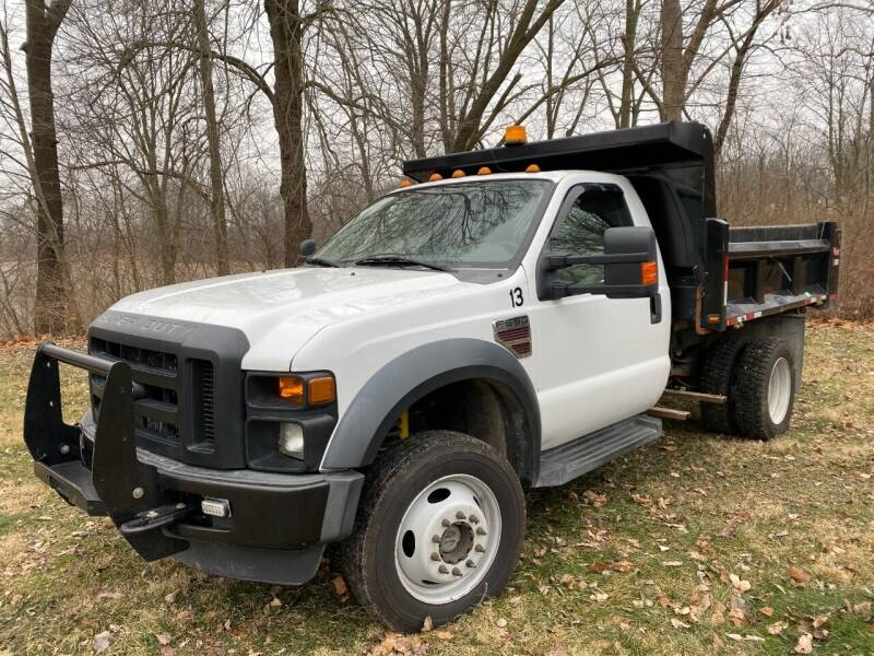 2008 Ford F-550 Super Duty for sale at Kenny Vice Ford Sales Inc - USED Vehicle Inventory in Ladoga IN