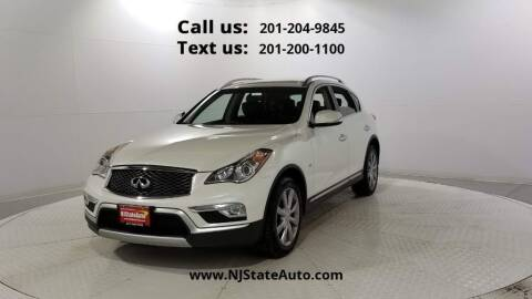 2016 Infiniti QX50 for sale at NJ State Auto Used Cars in Jersey City NJ