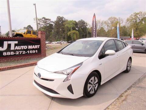2018 Toyota Prius for sale at J T Auto Group in Sanford NC