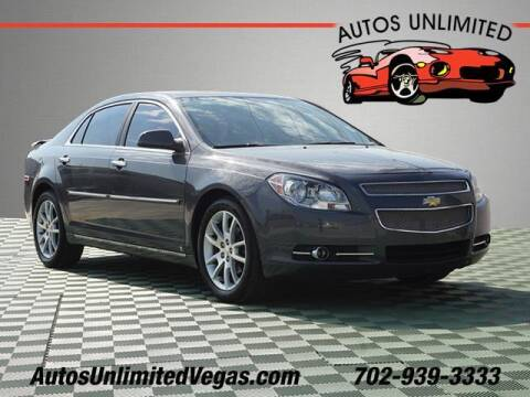 2009 Chevrolet Malibu for sale at Autos Unlimited in Las Vegas NV