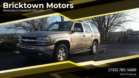2005 Chevrolet Tahoe for sale at Bricktown Motors in Brick NJ