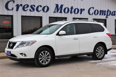 2016 Nissan Pathfinder for sale at Cresco Motor Company in Cresco IA