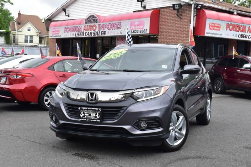2019 Honda HR-V for sale at Foreign Auto Imports in Irvington NJ