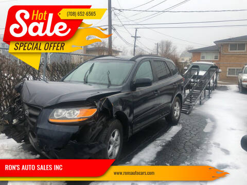 2008 Hyundai Santa Fe for sale at RON'S AUTO SALES INC in Cicero IL