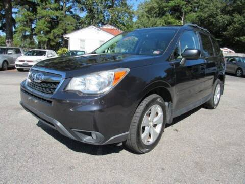2014 Subaru Forester for sale at Atlantic Auto Sales in Chesapeake VA
