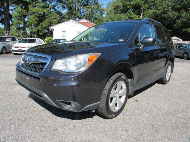 2014 Subaru Forester for sale at Atlantic Auto Sales in Chesapeake VA