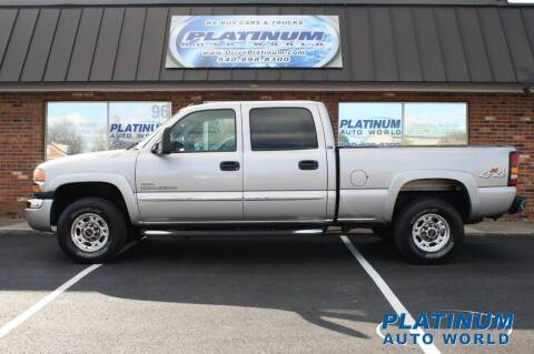 2004 GMC Sierra 2500HD for sale at Platinum Auto World in Fredericksburg VA