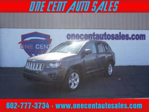 2016 Jeep Compass for sale at One Cent Auto Sales in Glendale AZ