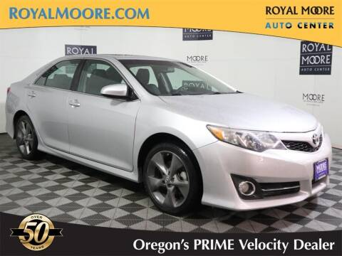 2012 Toyota Camry for sale at Royal Moore Custom Finance in Hillsboro OR