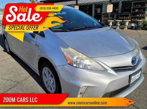 2014 Toyota Prius v for sale at ZOOM CARS LLC in Sylmar CA