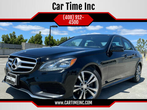2015 Mercedes-Benz E-Class for sale at Car Time Inc in San Jose CA
