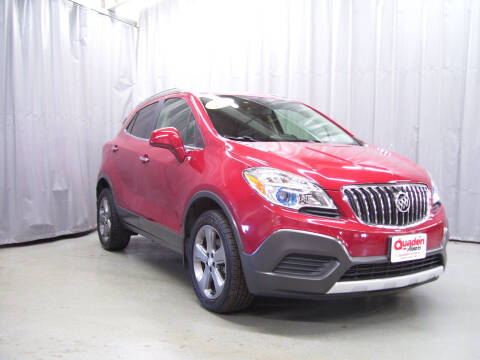 2013 Buick Encore for sale at QUADEN MOTORS INC in Nashotah WI