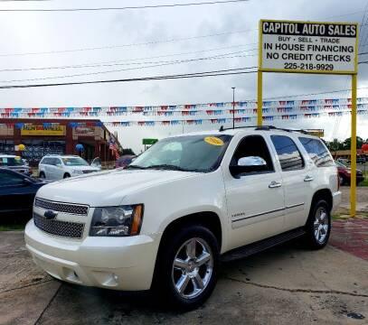 2011 Chevrolet Tahoe for sale at CAPITOL AUTO SALES LLC in Baton Rouge LA