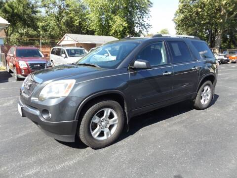 2011 GMC Acadia for sale at Goodman Auto Sales in Lima OH