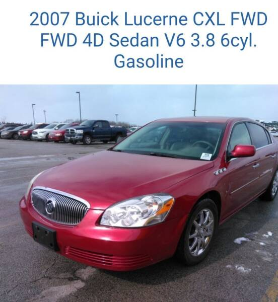 2007 Buick Lucerne for sale at The Bengal Auto Sales LLC in Hamtramck MI
