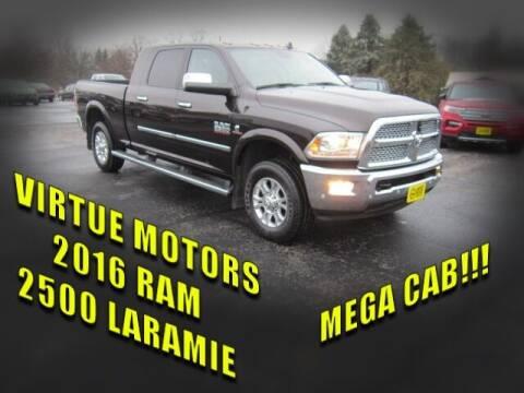 2016 RAM Ram Pickup 2500 for sale at Virtue Motors in Darlington WI