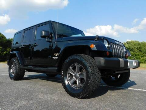 2012 Jeep Wrangler Unlimited for sale at Used Cars For Sale in Kernersville NC