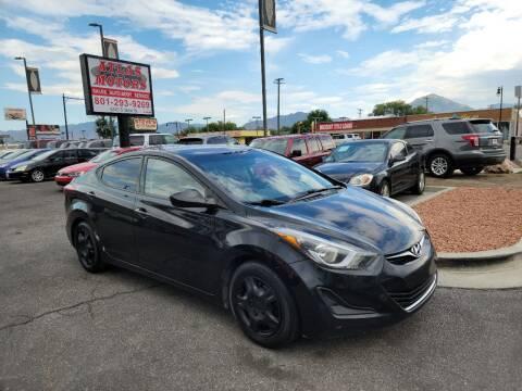 2016 Hyundai Elantra for sale at ATLAS MOTORS INC in Salt Lake City UT