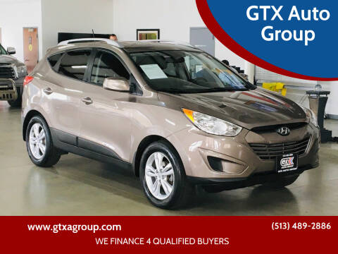 2010 Hyundai Tucson for sale at GTX Auto Group in West Chester OH