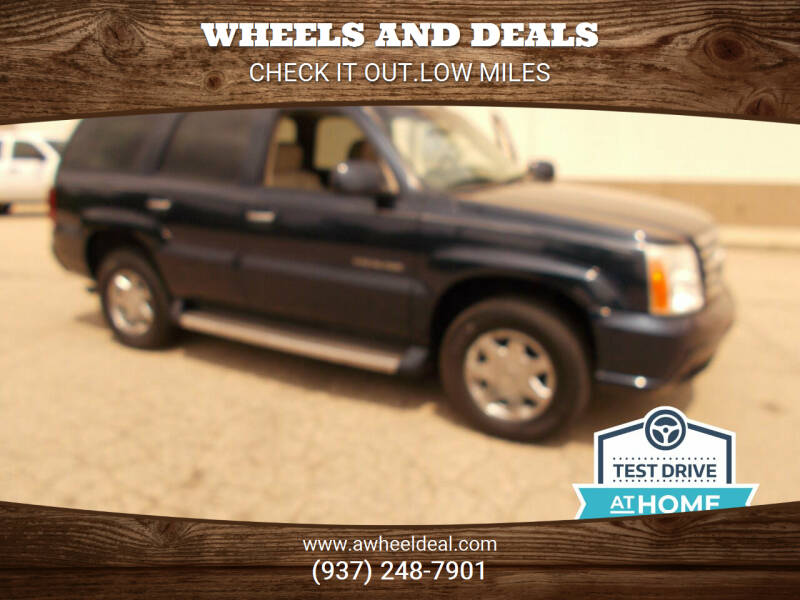 2005 Cadillac Escalade for sale at Wheels and Deals in New Lebanon OH