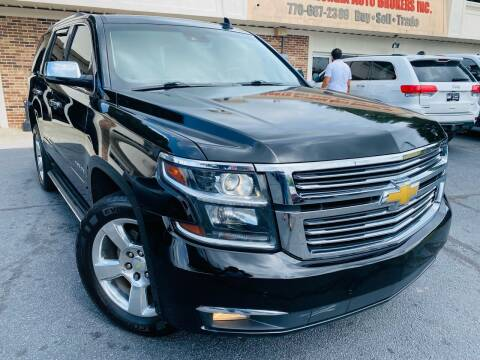 2016 Chevrolet Tahoe for sale at North Georgia Auto Brokers in Snellville GA