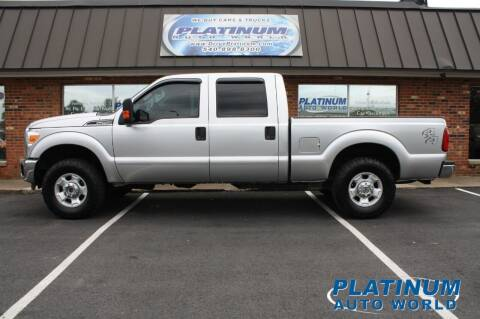 2012 Ford F-250 Super Duty for sale at Platinum Auto World in Fredericksburg VA