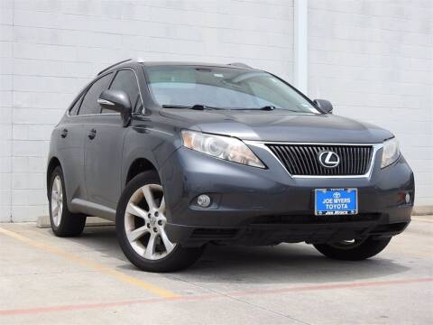 2011 Lexus RX 350 for sale at Joe Myers Toyota PreOwned in Houston TX