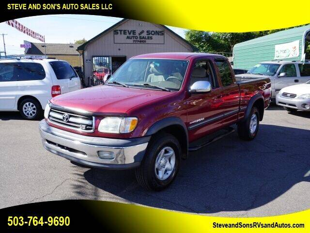 2002 Toyota Tundra for sale at Steve & Sons Auto Sales in Happy Valley OR