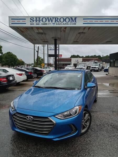 2017 Hyundai Elantra for sale at Showroom Auto Sales of Charleston in Charleston SC
