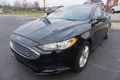2018 Ford Fusion for sale at MyEzAutoBroker.com in Mount Vernon OH