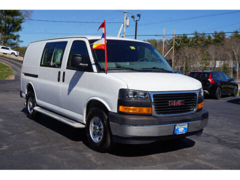 2018 GMC Savana Cargo for sale at VILLAGE MOTORS in South Berwick ME